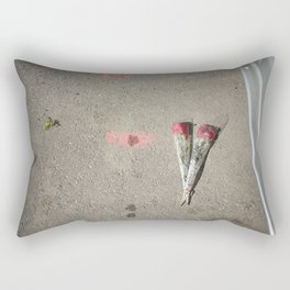 Say it with flowers Rectangular Pillow