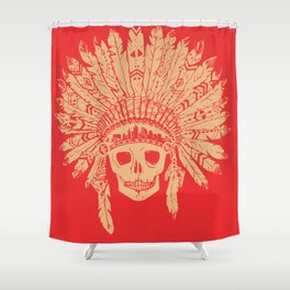 KC Headdress Shower Curtain