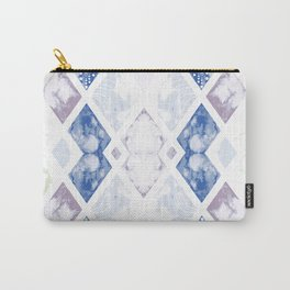 Watercolor Marble pattern Carry-All Pouch