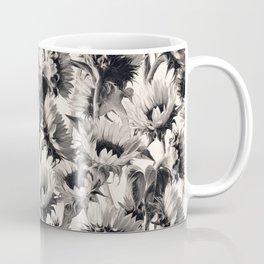 Sunflowers in Soft Sepia Coffee Mug