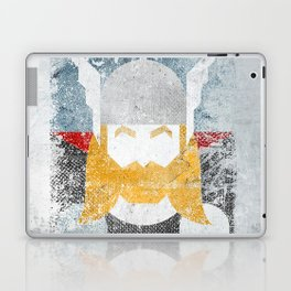 God of thunder grunge superhero Laptop & iPad Skin