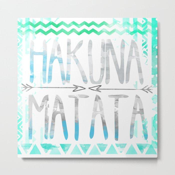 Hakuna Matata Metal Print