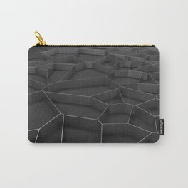 Metal voronoi grate Carry-All Pouch
