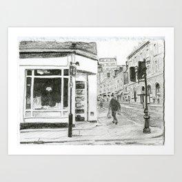 Walking in Kensington Art Print
