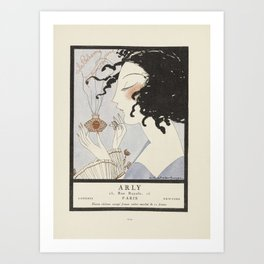 Fashion Poster 1900-1920s Series - 47 Art Print