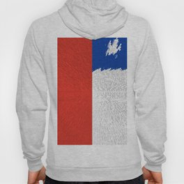 Extruded Flag of Chile Hoody