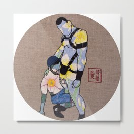 Of Rose And Lillies Metal Print