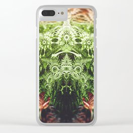 whisk. 3D Abstract Design Clear iPhone Case