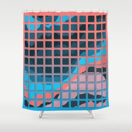 TOPOGRAPHY 2017-006 Shower Curtain