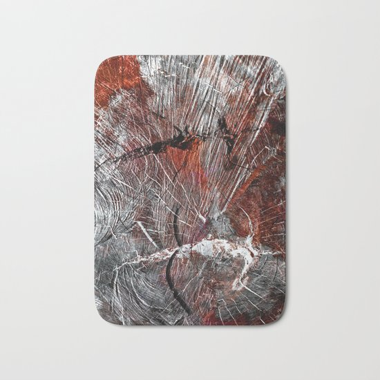 RED ARCHETYPAL STRUCTURES Bath Mat