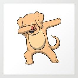 Dabbing Labrador T Shirt Men Women Retriever Lab Labs Dog Gift Art Print
