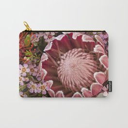 Macro Protea Carry-All Pouch