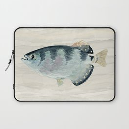 Patriot Fish Swimming in Troubled Waters Laptop Sleeve