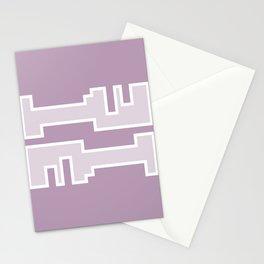 Purple // Key Blade Stationery Cards