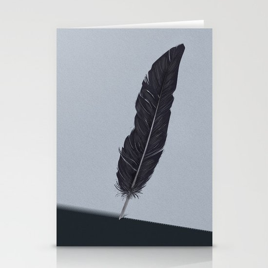 Feathered Edge. Stationery Cards