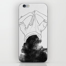 Its better to disappear. iPhone Skin