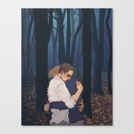 Just to be quiet Canvas Print