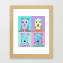 FKA Twigs Pop Art Framed Art Print