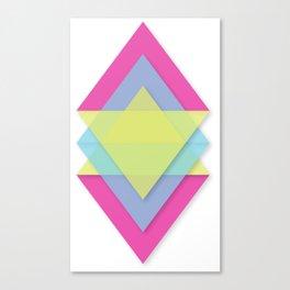 CMY Pattern Canvas Print