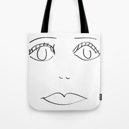 pastel loves marble geometry Tote Bag