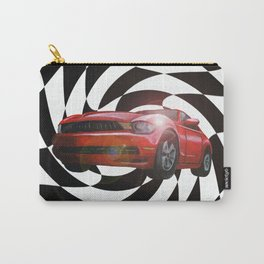 Red Car Victory Lap Carry-All Pouch