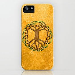 World Tree (Yggdrasil) Knot iPhone Case