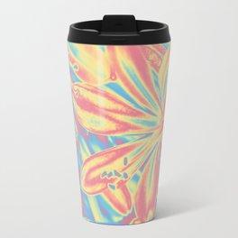 colorful blossoms Travel Mug
