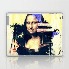 mona lisa Laptop & iPad Skin