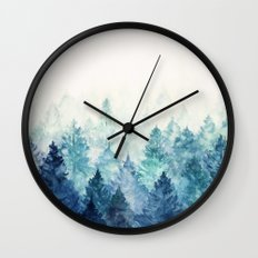 Fade Away Wall Clock