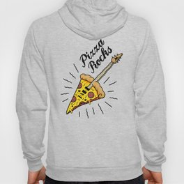 Pizza Rocks - Guitar Slice Hoody