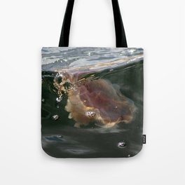 Surfing Jellyfish Tote Bag