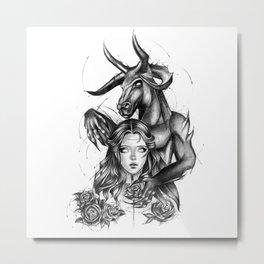 Beauty & The Beast Metal Print