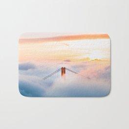 Golden Gate Bridge at Sunrise from Hawk Hill - San Francisco, California Bath Mat