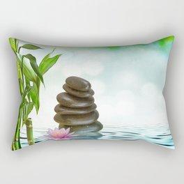 Zen Morning Rectangular Pillow