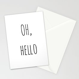 Oh, hello Stationery Cards