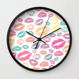 Lips 12 Wall Clock