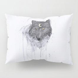 the wolf and the moon Pillow Sham