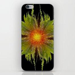 The Fireflower Swirl iPhone Skin