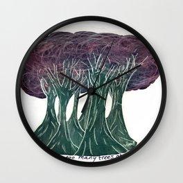 Night Trees, Inverse Wall Clock