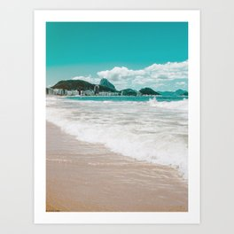 Sugar Loaf from Copacabana Art Print