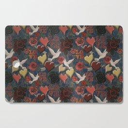 LOVE Vintage Pattern Cutting Board