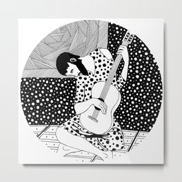 Picasso - The Old Guitarist Metal Print