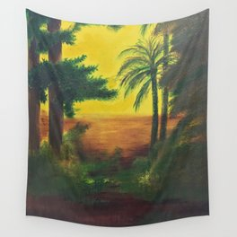 Day in the wetlands Wall Tapestry