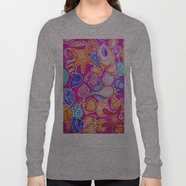 Colorful Seashells Long Sleeve T-shirt