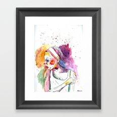 Over My Shoulder #2 Framed Art Print