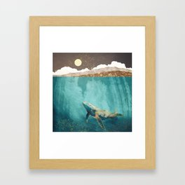 Light Beneath Framed Art Print