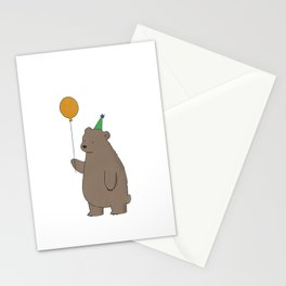 Bear Party Stationery Cards
