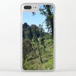 Redwood Meadow (Redwood Regional) Clear iPhone Case