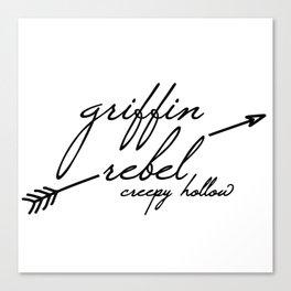 Griffin Rebel Canvas Print