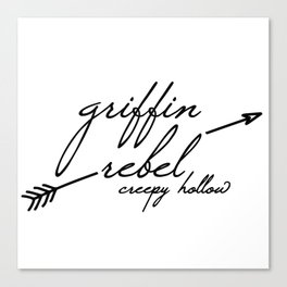 Griffin Rebel Canvas Print